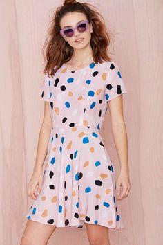 Dusen Dusen On The Rocks Silk Dress | Shop Lena Dunham Is A Nasty Gal at Nasty Gal