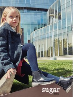 Rose from Sugar Kids for Besson Chaussures lookbook fw16.