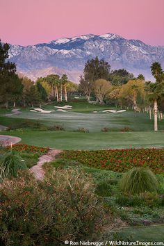 Indian Wells Golf Resort, near Palm Springs,  Indian Wells, California  #beautiful #golfcourse #golf