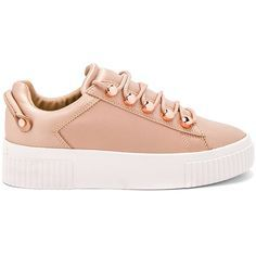 KENDALL + KYLIE Rae Sneaker (85.295 CLP) ❤ liked on Polyvore featuring shoes, sneakers, обувь, laced sneakers, laced shoes, lace up shoes, lacing sneakers and platform lace up shoes