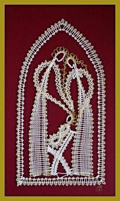 vianočné ozdoby :: Nativity Scene Sets, Fillet Crochet, Bobbin Lace Patterns, Iris Folding, Lacemaking, Lace Heart, Paper Embroidery, Lace Jewelry, Lace Design