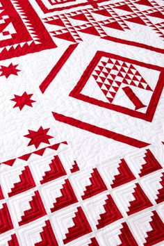 Classic Red-and-White Quilts | AllPeopleQuilt.com Staff Blog