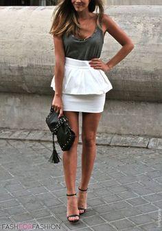 ♥   Fashion #simple #chic