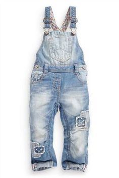 Heart Patch Dungarees