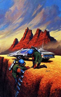 Darrell K. Sweet - David Starr, Space Ranger, 1970's. / The Science Fiction Gallery