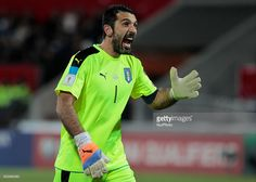 Gianluigi Buffon during the match to qualify for the Football World Cup 2018 between Liechtenstein v Italia, in Vaduz, on November 12, 2016.