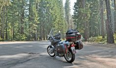 Highway 62 glides through mature, shady conifer forests that seemed to demand a gentle, sedate riding pace. This ride through Oregon was featured in the July 2013 issue of Rider magazine.