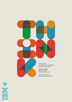 serialthrill:  IBM Think Poster