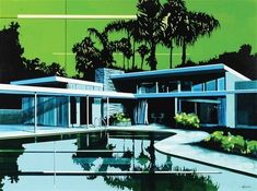 Design of Architectural Environment Paul Davis, Pop Art Collage, Image Search, Cool Art, Environment, Mansions, House Styles, Outdoor Decor, Artist