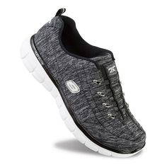 Skechers Synergy Positive Outcome Women's Athletic Shoes, Size: 9, Grey (Charcoal)