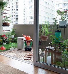 Varanda com cara de quintal - Casa e Jardim   Galeria de fotos