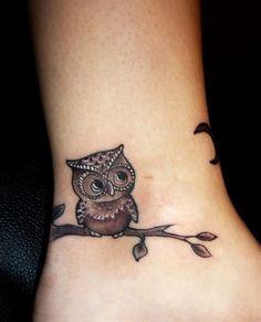 tattoos / tattoos owl tattoo - Click image to find more Tattoos Pinterest pins  #tattoos #tattoo #ink #Tätowierung #tatuaje #tatouage #dövme