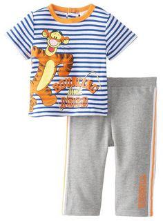 Disney Baby Baby-Boys Newborn Tigger 2 Piece French Terry Pant Set  8.40! ( 06e349408