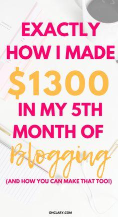 Easy Money Online, Make Easy Money, Make Money Blogging, Quitting Your Job, Blogging For Beginners, Mom Blogs, Blog Tips, Making Ideas, How To Start A Blog