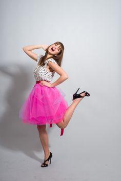 pink Tutu, Ballet Skirt, Skirts, Pink, Fashion, Moda, Fashion Styles, Tutus, Skirt