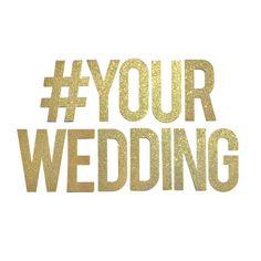 Custom Wedding Banner // PRE-STRUNG Hashtag Banner // Engagement Party Decor // Bridal Shower Decoration