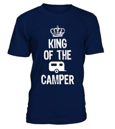 """# King Of The Camper - Camping T-Shirt .  Special Offer, not available in shops      Comes in a variety of styles and colours      Buy yours now before it is too late!      Secured payment via Visa / Mastercard / Amex / PayPal      How to place an order            Choose the model from the drop-down menu      Click on """"Buy it now""""      Choose the size and the quantity      Add your delivery address and bank details      And that's it!      Tags: holidays travel traveling traveler road trip…"""