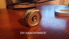 DIY Hand Spinner Fidget Toy for Cheap!