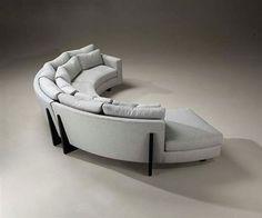 Semi-circular couch