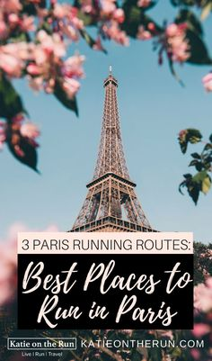 3 Paris Running Routes: Best Places to Run in Paris The best thing about Paris is running through the city will provide you with a plenty of routes to take in the sites while get a nice run in all at the same time. Travel Advice, Travel Tips, Travel Destinations, Travel Guides, Travel Articles, Travel Hacks, Budget Travel, Work Travel, Digital Nomad