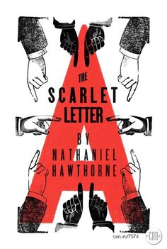 The Scarlet Letter   25 Beautifully Redesigned Classic Book Covers