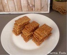 Simple Sesame Snaps (nut free, grain free, gluten free, refined sugar free, egg free, dairy free)