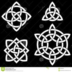 Celtic Knots Collection Royalty Free Stock Image - Image: 35985696