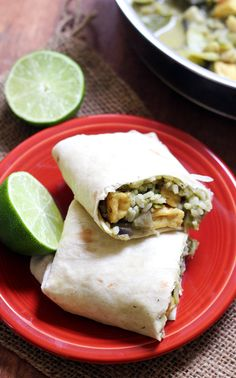Thai Green Curry Burritos | Joanne Eats Well With Others