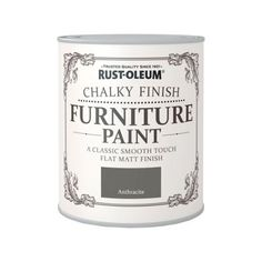 Rust Oleum Anthracite   Chalky Furniture Paint   750ml