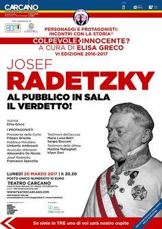 JOSEF RADETZKY | Teatro Carcano