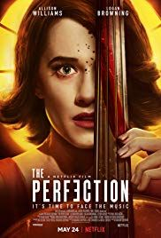 "A walk through a serene wilderness turns sinister in the new trailer for ""The Perfection,"" Netflix's upcoming horror-thriller starring Logan Browning and Allison Williams. The film, directed by Ri… Logan Browning, Allison Williams, Streaming Hd, Streaming Movies, Jackie Chan, Horror Movie Posters, Horror Movies, Scary Movies, Good Movies"