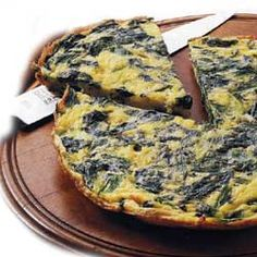 Wish I weren't allergic to eggs. When I have like 10 minutes left to live, I want someone to get me quiche florentine ASAP. Yummy Vegetable Recipes, Vegetarian Recipes, Cooking Recipes, Healthy Recipes, Vegetarian Quiche, My Favorite Food, Favorite Recipes, Good Food, Yummy Food
