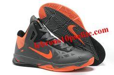 free shipping 6fdb9 c815e Cheap Charcoal Total Orange-Black Nike Zoom Hyperchaos X Fashion Shoes Shop