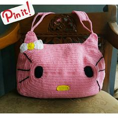 Hello kitty?? 😽😽😽 ngerajut yuk😆