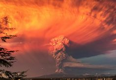 chile volcano - Google Search