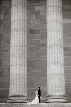Wedding photos at The Philadelphia Museum of Art   #lorrainedaley #lorrainedaleyweddings #philadelphiawedding