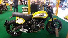 Ducati Scrambler #intermot #caferacercult #crc