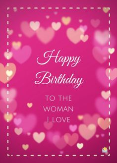 Cute Happy Birthday Messages, Birthday Message For Wife, Best Happy Birthday Quotes, Happy Birthday Fun, Special Birthday, Advance Happy Birthday Wishes, Birthday Wishes For Wife, Romantic Birthday Wishes, Happy Mothers Day Wishes