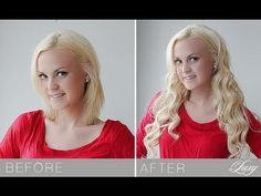 How to Blend Luxy Hair Extensions with Short Hair - YouTube