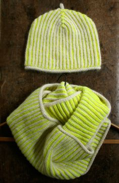 Gina's Brioche Hat and Cowl | The Purl Bee