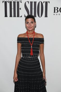 Giovanna Battaglia Photos Photos - Giovanna Battaglia attends the W Magazine and…