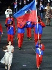 Haiti delegation #Olympics #london2012 #Haïti #Ayiti