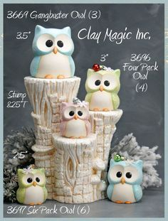 Discover thousands of images about Clay Magic - GalleryDiscover thousands of images about Polymer Clay Tier Eule Figur Geekery Pocket Totem von MeganSiedzik Polymer Clay Owl, Polymer Clay Figures, Polymer Clay Animals, Polymer Clay Projects, Polymer Clay Creations, Paper Clay, Clay Art, Crea Fimo, Owl Crafts
