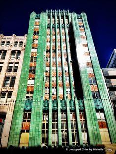 Art Deco | Los Angeles Jewelry Center (former Sun Realty Building), designed by Claud Beelman, 1930.