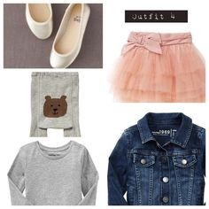 Outfit 4 - toddler girl outfit idea for autumn 13