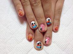new DISCO nails ♡