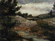 Paul Cezanne's Dark Period, c. 1866-1869
