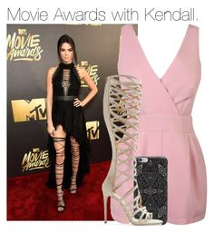 """""""Movie Awards with Kendall."""" by cheekyxtommo ❤ liked on Polyvore featuring DANNIJO and Tamara Mellon"""