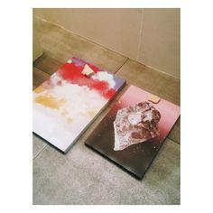 """""""お土産のポスター。#すごく可愛い#子供部屋に貼るんだ。#thx #ARTFAIR"""""""