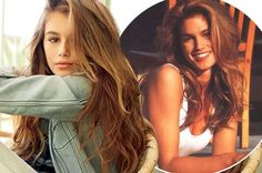 Cindy Crawford's kids were bond to be ridiculously good looking, but her daughter Kaia is a real mini-me!